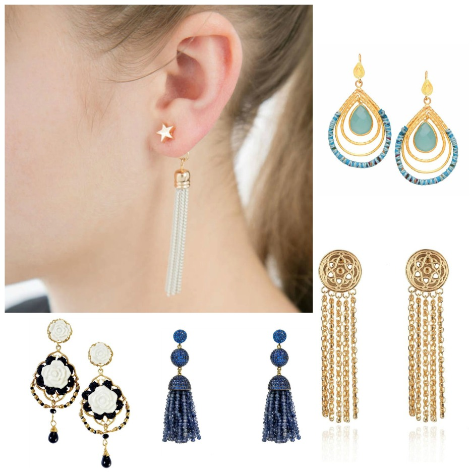 Bridal statement earrings to buy now 2018