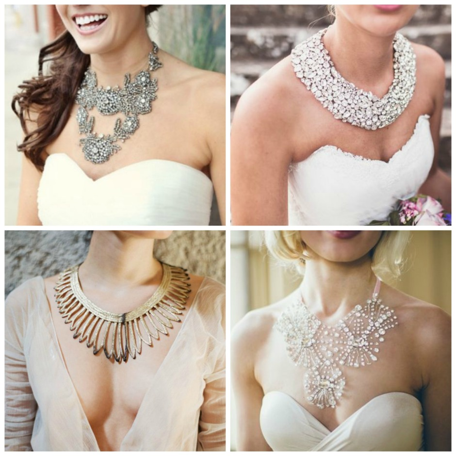 Bridal statement necklaces 2018