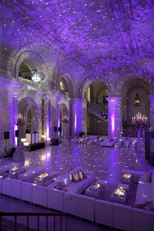 imaginative lighting for weddings