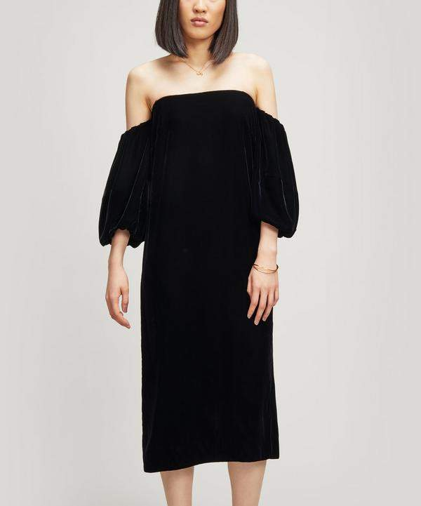 Elizabeth and James Vanna Velvet Dress