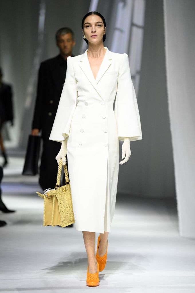 Fendi bridal coverup inspiration SS21