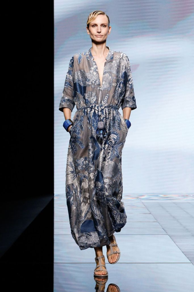 Giorgio Armani honeymoon inspiration SS21
